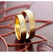 Aliança de noivado e casamento Bahia-ba WM1677