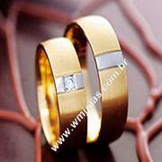 Aliança de noivado e casamento Blumenal WM1676