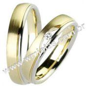 Aliança de noivado e casamento WM1374