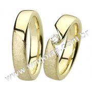 Aliança de noivado e casamento WM1386