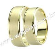 Aliança de noivado e casamento WM1392