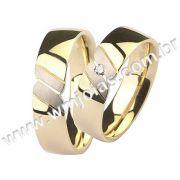Aliança de noivado e casamento WM1499