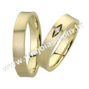 Aliança de noivado e casamento WM1518