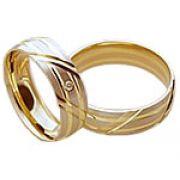 Aliança de noivado e casamento WM1561