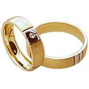 Aliança de noivado e casamento WM1576