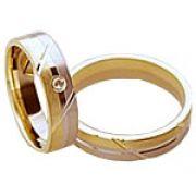 Aliança de noivado e casamento WM1580