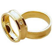 Aliança de noivado e casamento WM1586