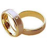 Aliança de noivado e casamento WM1591