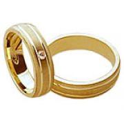 Aliança de noivado e casamento WM1595