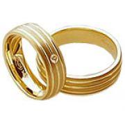 Aliança de noivado e casamento WM1597