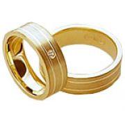 Aliança de noivado e casamento WM1598