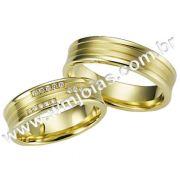 Aliança de noivado e casamento WM1608
