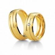 Aliança de noivado e casamento WM1625