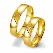 Alianca de noivado e casamento WM2014