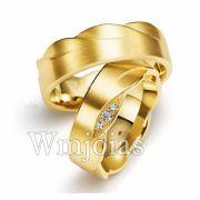 Aliança de noivado e casamento WM3015