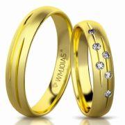 Aliança de ouro ouro cielo plus WM3176