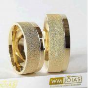 b680c6899ed50 COMPRAR. Aliança de ouro sem pedras Peso 16 gramas o par Largura 8mm WM10050