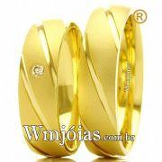 Alianca de ouro WM2428
