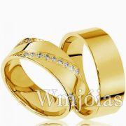 Aliança de ouro WM2992