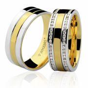 Aliança em ouro WM3227