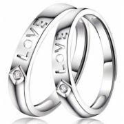 Aliança Love Prata WM3218