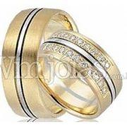 Aliança para casamento WM2610