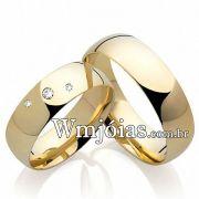 Alianças casamento noivado WM2199