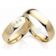 Alianças casamento Vinhedo WM2220