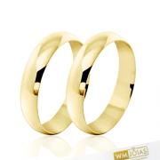 Alianças de casamento 4,5 mm WM1870