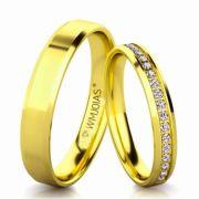 Alianças de casamento baratas WM3151