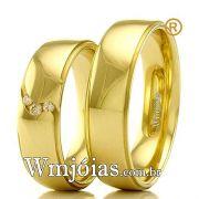 Aliancas de casamento e noivado WM2355