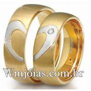Aliancas de casamento e noivado WM2470
