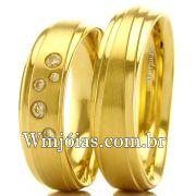 Aliancas  de casamento e noivado WM2534