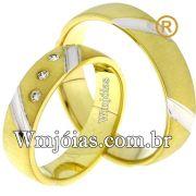 Aliancas de casamento e noivado WM2545