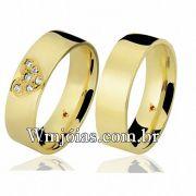 Alianças de casamento e noivado WM2651