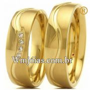 Alianças de casamento e noivado WM2747