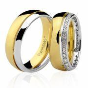 Alianças de casamento e noivado WM3225