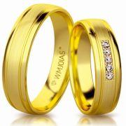 Alianças de casamento grossa WM3142