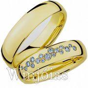 Alianças de casamento Sato WM2958