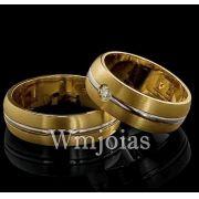 Alianças de casamento WM2869