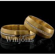 Alianças de casamento WM2872