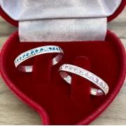 Alianças de namoro personalizadas WM10319