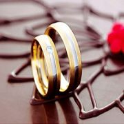 Alianças de noivado e casamento Baratas WM1675