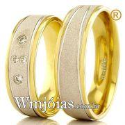 Alianças de ouro 18k WM2380