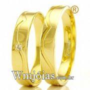 Aliancas de ouro WM2460