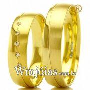 Aliancas de ouro WM2469