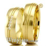 Alianças em ouro 18k WM2300
