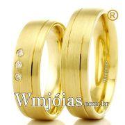 Alianças em ouro 18k WM2323