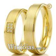 Aliancas em ouro 18k WM2324