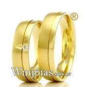 Aliancas em ouro 18k WM2335